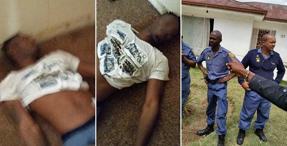 25 year old Nigerian Guy shot dead