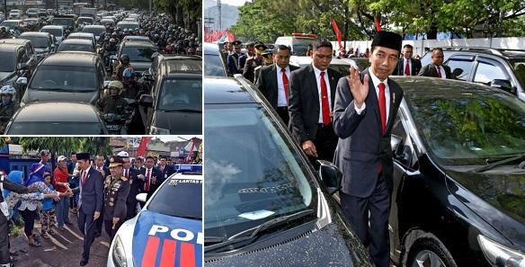Indonesia traffic jam
