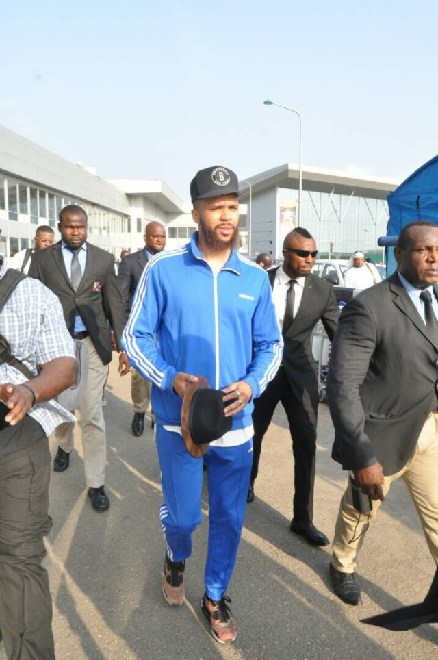 Image result for CELEBRITY Singer Jidenna arrives Nigeria (Photos)