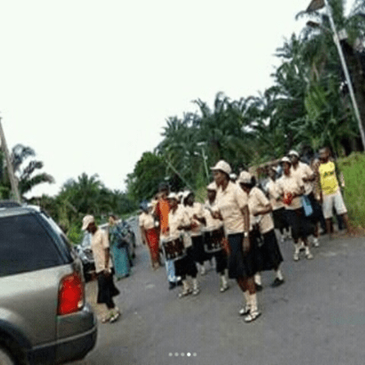 Tagbos Burial 03 - Photos from Tagbo's Burial Davido's Friend