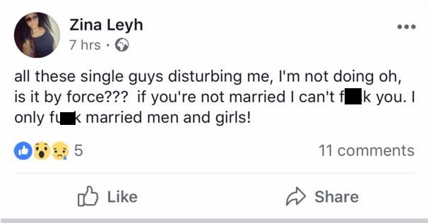 """WhatsApp Image 2017 10 26 at 7.35.55 AM - """"I only f**k married men and women"""" — Port Harcourt Lady warns single Nigerian guys"""