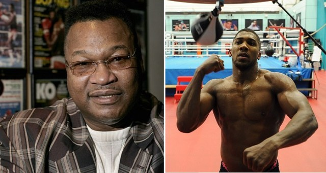 King Holmes Advises Anthony Joshua