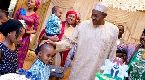 President Buhari invites 10 year old girl