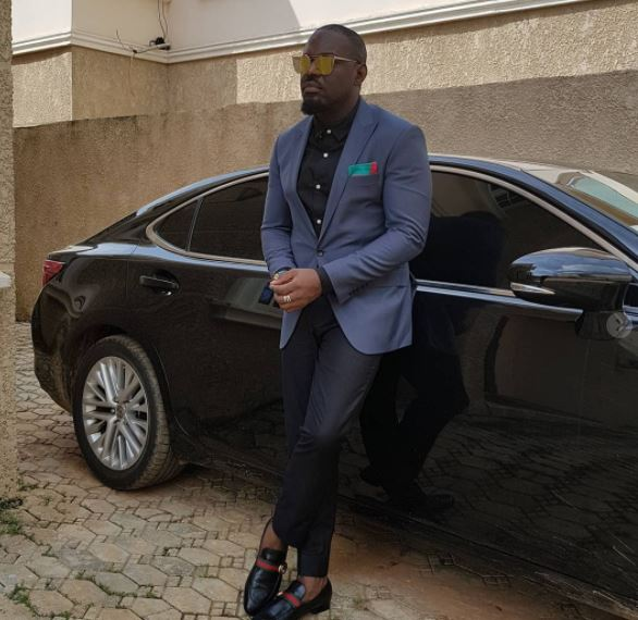 jim iyke slams follower