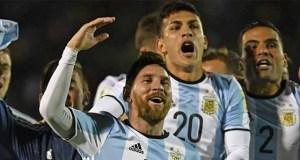 Lionel Messi's hat-trick