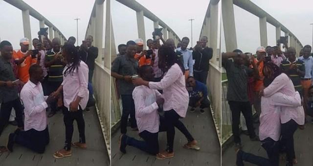 Nigerian Man Bends