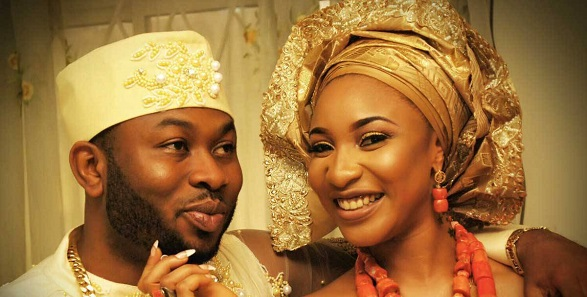 Olakunle Churchill finally replies Tonto Dikeh