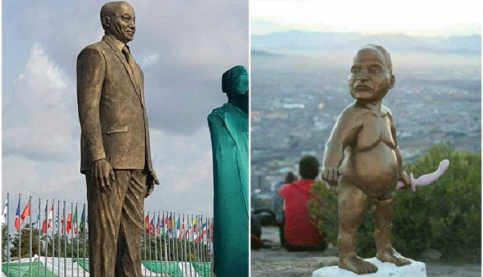 Between Jacob Zuma's Statue In South Africa And The One In Nigeria!