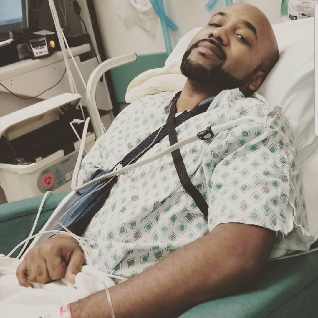 Banky W undergoes third cancer surgery, Adesua Etomi tells Banky W