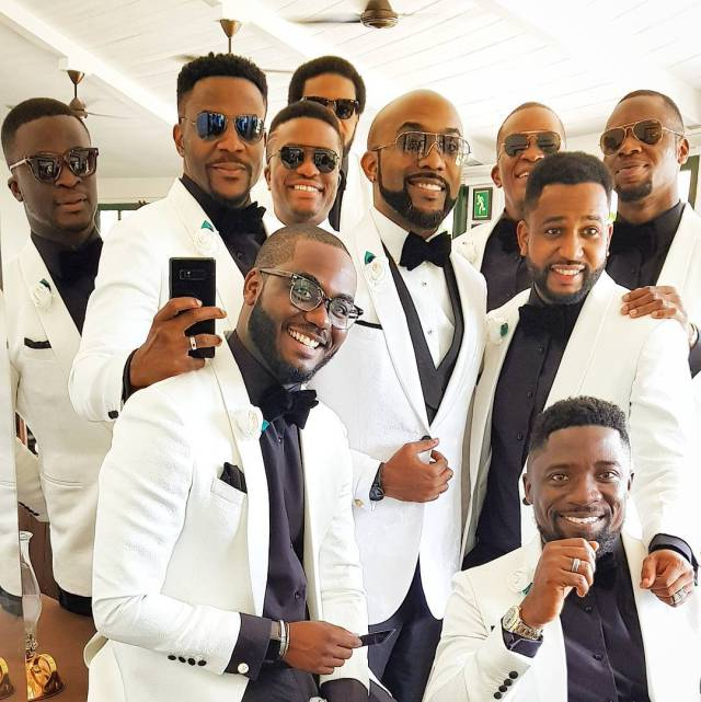 "Baads 04 - Why Oritsefemi's wedding ""outshone"" Banky W's wedding"