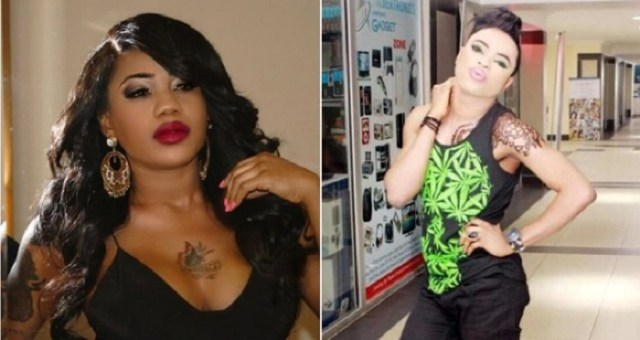 Bobrisky Shade Toyin Lawanii13 - See How Bobrisky risked his way into gay mess
