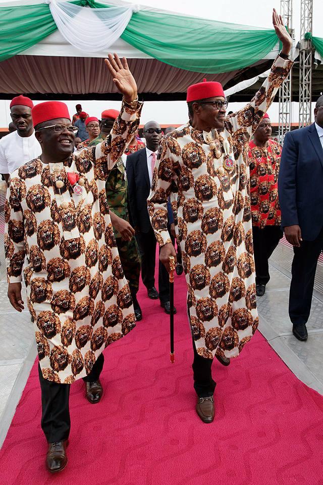 President Buhari looks handsome