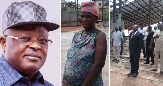 Ebonyi Governor Gifts Pregnant Laborer N200k