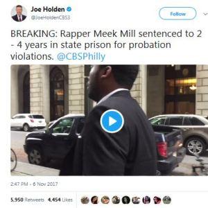 Meek Mill Sentenced