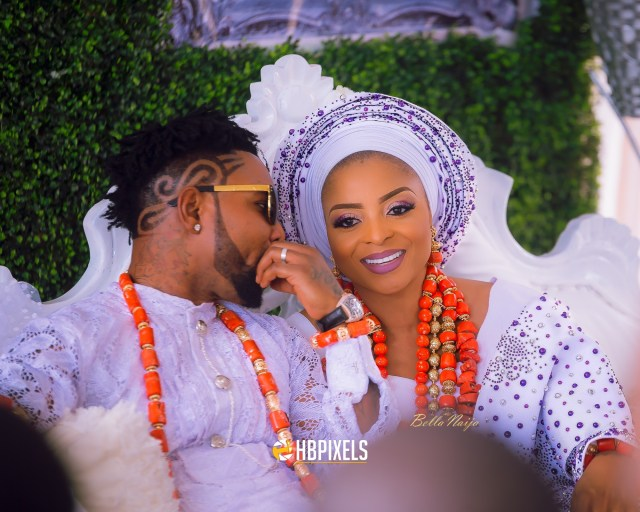"Nabila Oritsefemi Happy benson BellaNaija weddings 2 - Why Oritsefemi's wedding ""outshone"" Banky W's wedding"