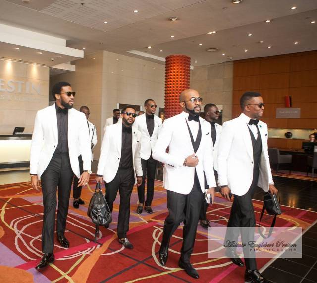 "New wedding 06 - Why Oritsefemi's wedding ""outshone"" Banky W's wedding"