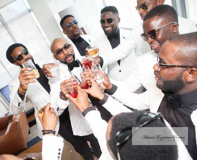 "New wedding 09 - Why Oritsefemi's wedding ""outshone"" Banky W's wedding"
