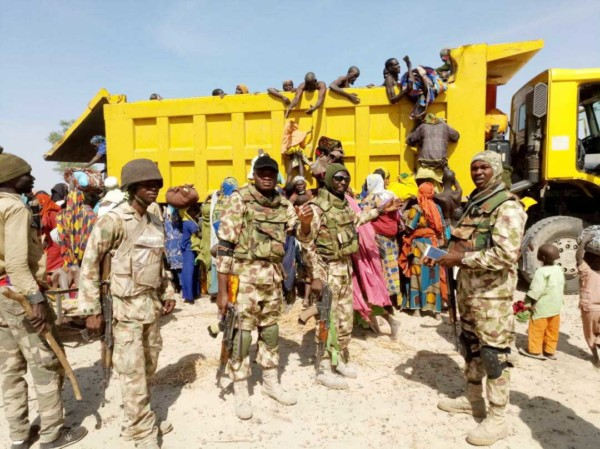 Nigerian Army Rescues Captives2 - Nigerian Army Rescues 212 Captives, Captures 1 Boko Haram Commander