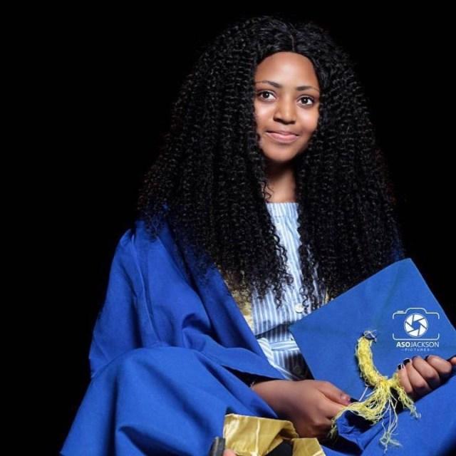 Regina Daniels attends Igbinedion University