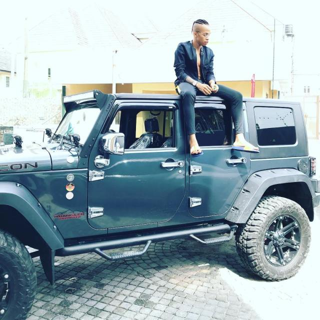 Dammy Krane Acquires Brand New Mercedes Benz GLC 300