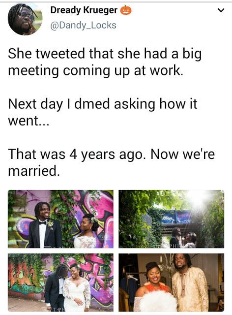 Couple Wey Meet Via Twitter