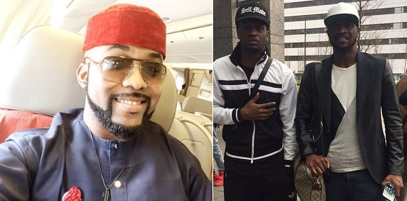 """You should never have to choose between two good things"" – Banky W to Peter & Paul Okoye on their Birthday"