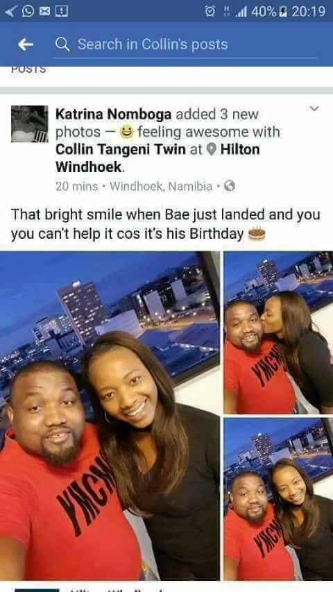 Different Women Wish Namibian Lover Happy Birthday