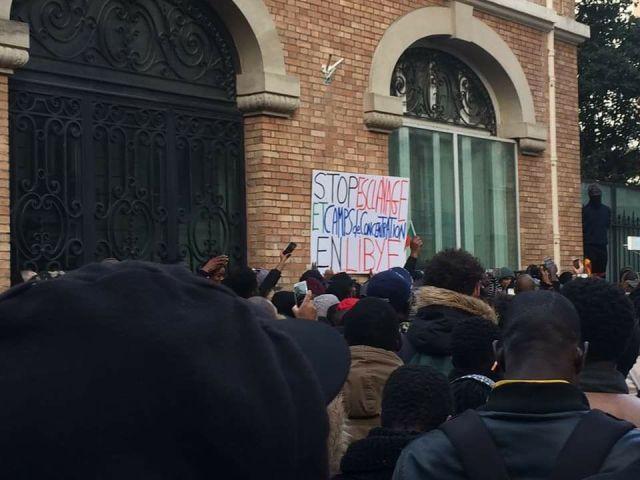 Didier Drogba Protest