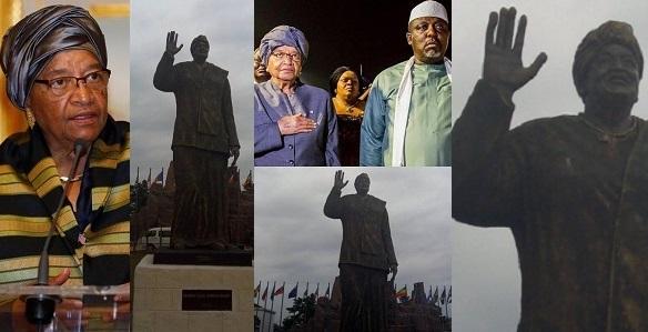 Ellen Johnson Sirleaf speaks