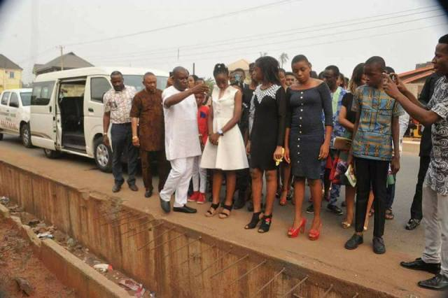 14 year old 02 - 14 Year Old Joy Ezechikamnayo begins duty as Abia State governor along with her team & security (photos)