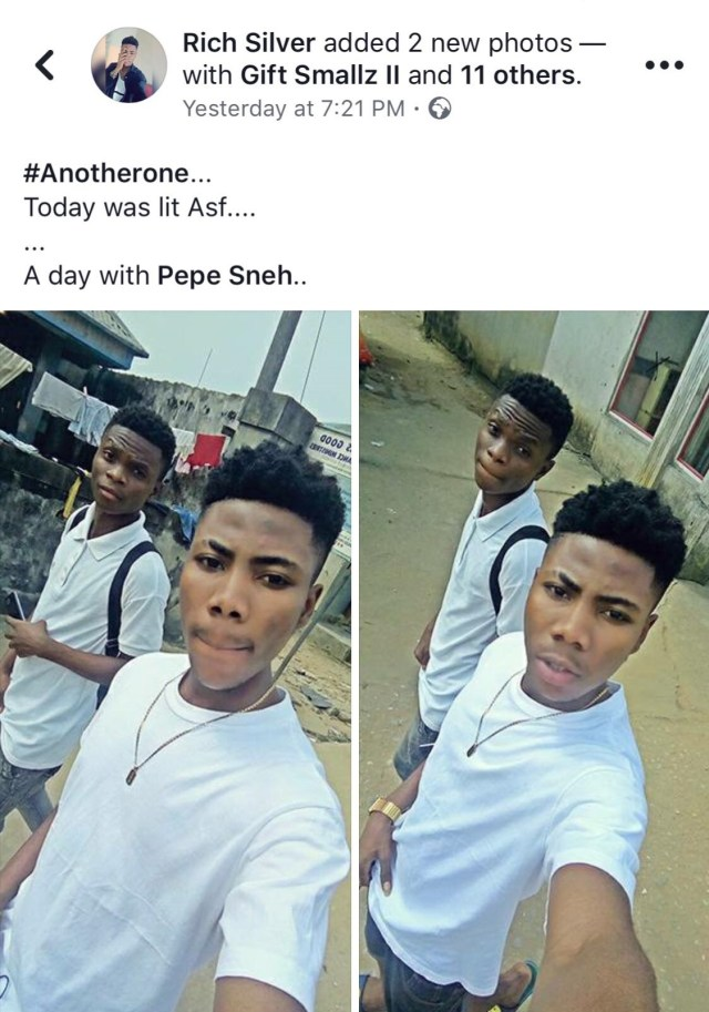 25397599 10214726628065247 75209470 o - Two Nigerian Facebook Guys Gets Exposed As Gays! (Photos)
