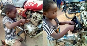 8-Year-Old Boy Owns Motorcycle Repair Workshop
