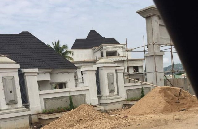Bello 1 - Checkout Photos From The Opening Of Gov. Yahaya Bello's New Mansion