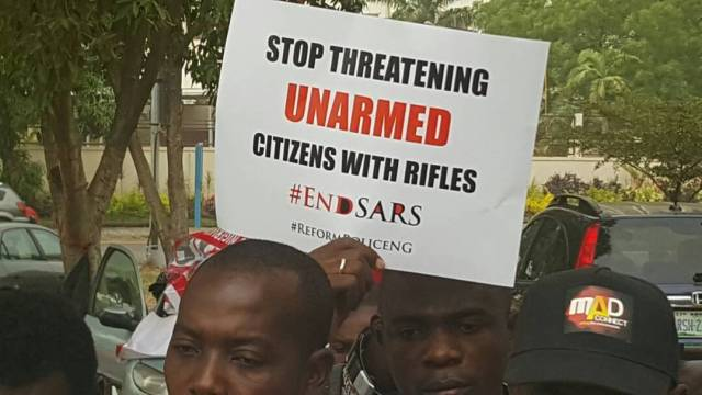DQw4wrLU8AAI6yU - See Photos From The #EndSARS Nationwide Protest