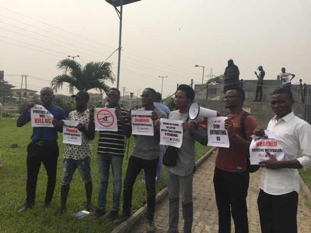 DQwirpoVoAEnagY - See Photos From The #EndSARS Nationwide Protest
