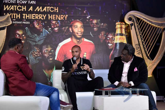 Thierry Henry Visits Nigeria