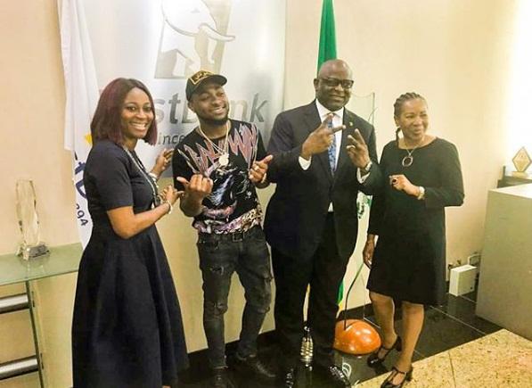 Davido becomes first bank ambassador