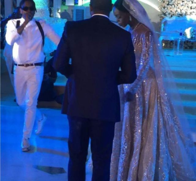 Davido runtown bukola saraki daughter wedding2 - Photos + Video From Runtown And Davido's Performance At Senator Bukola Saraki's Daughter's Wedding.