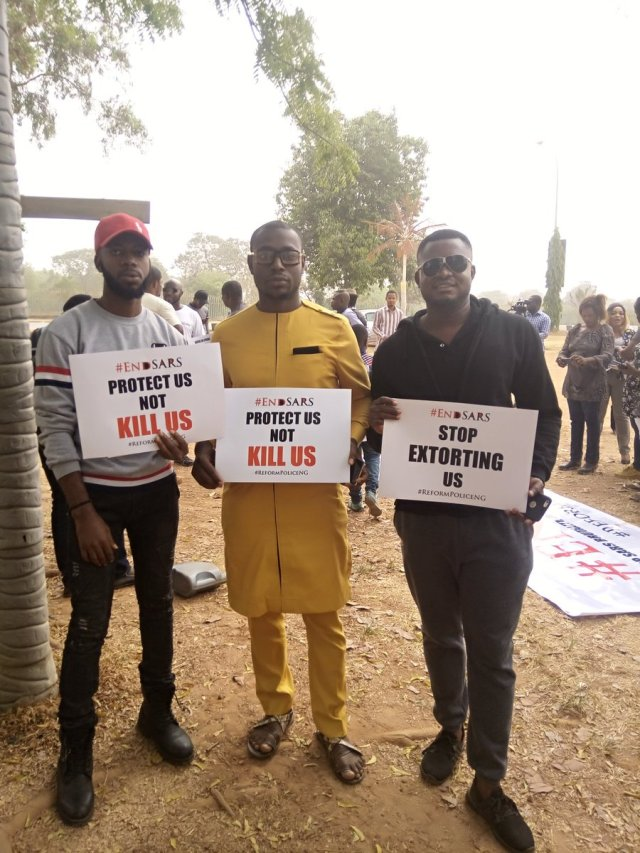 EndSARS 12 - See Photos From The #EndSARS Nationwide Protest