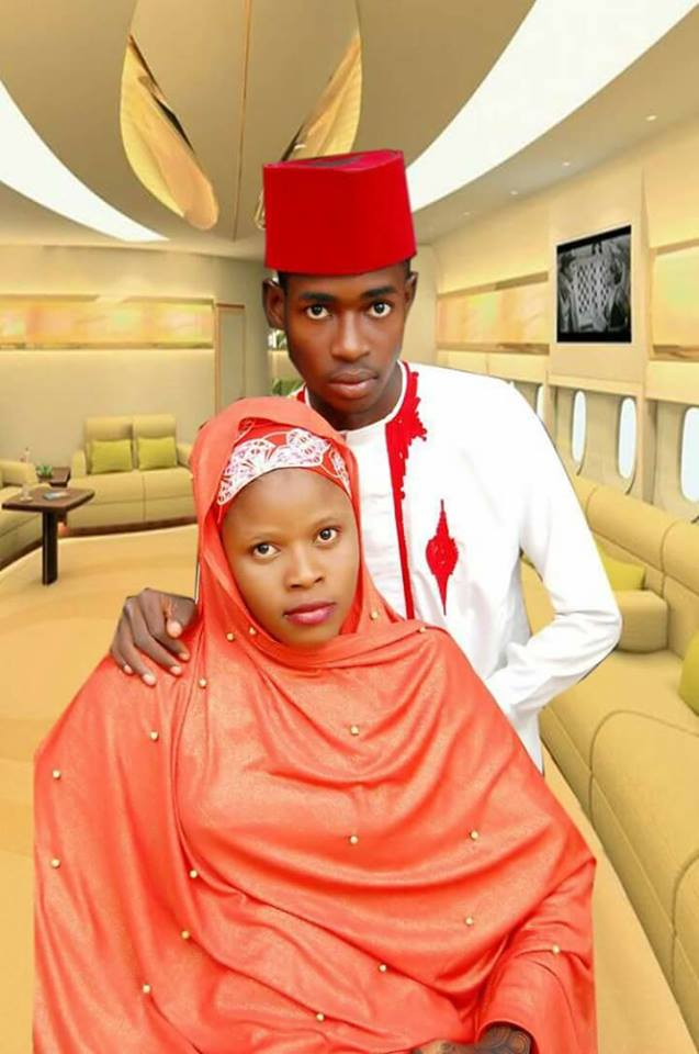 Hausa young couple1 - Viral Photos Of A Young Hausa Couple.