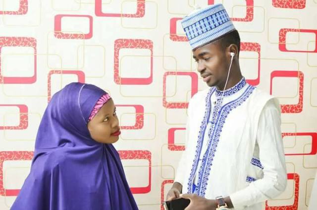 Hausa young couple2 - Viral Photos Of A Young Hausa Couple.