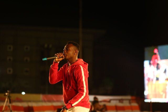 IMG 5601 preview - Davido, Runtown, Mr. P, Niniola, Oritsefemi, 9ice, Olu Maintain, Falz & more Shutdown Barbeach at the Merrybet Celebrity Fans Challenge Event