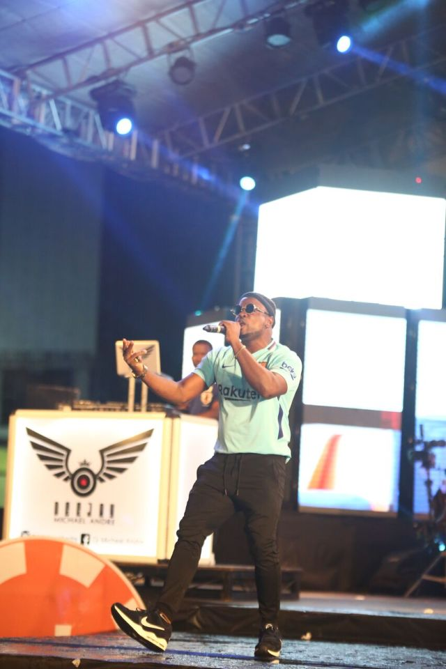IMG 5670 preview - Davido, Runtown, Mr. P, Niniola, Oritsefemi, 9ice, Olu Maintain, Falz & more Shutdown Barbeach at the Merrybet Celebrity Fans Challenge Event