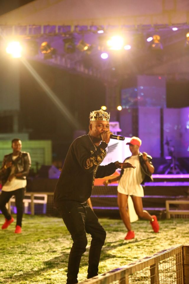 IMG 5690 preview - Davido, Runtown, Mr. P, Niniola, Oritsefemi, 9ice, Olu Maintain, Falz & more Shutdown Barbeach at the Merrybet Celebrity Fans Challenge Event