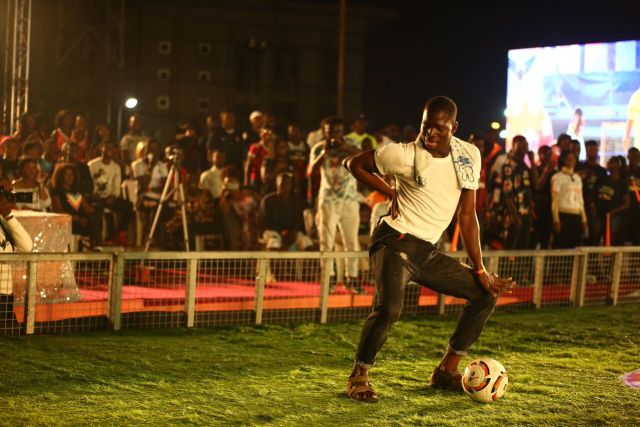 IMG 5731 preview - Davido, Runtown, Mr. P, Niniola, Oritsefemi, 9ice, Olu Maintain, Falz & more Shutdown Barbeach at the Merrybet Celebrity Fans Challenge Event