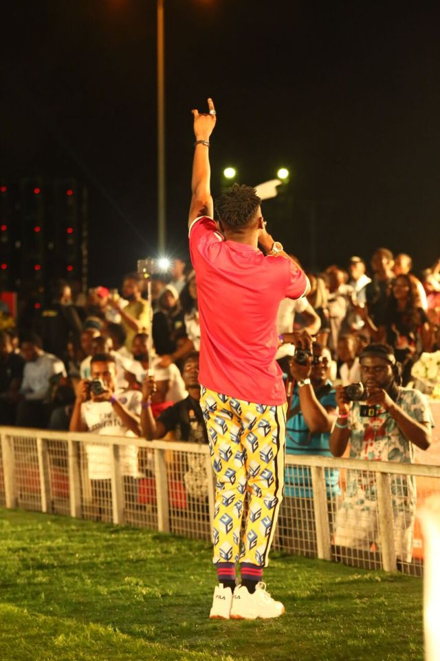 IMG 5787 preview - Davido, Runtown, Mr. P, Niniola, Oritsefemi, 9ice, Olu Maintain, Falz & more Shutdown Barbeach at the Merrybet Celebrity Fans Challenge Event
