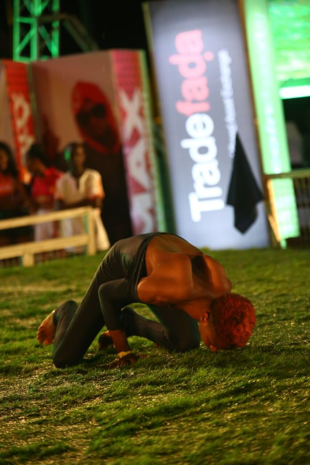 IMG 5926 preview - Davido, Runtown, Mr. P, Niniola, Oritsefemi, 9ice, Olu Maintain, Falz & more Shutdown Barbeach at the Merrybet Celebrity Fans Challenge Event