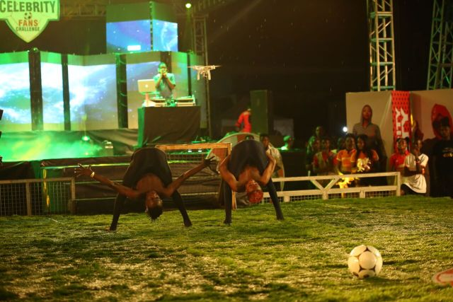 IMG 5938 preview - Davido, Runtown, Mr. P, Niniola, Oritsefemi, 9ice, Olu Maintain, Falz & more Shutdown Barbeach at the Merrybet Celebrity Fans Challenge Event