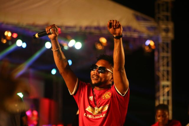 IMG 6186 preview - Davido, Runtown, Mr. P, Niniola, Oritsefemi, 9ice, Olu Maintain, Falz & more Shutdown Barbeach at the Merrybet Celebrity Fans Challenge Event