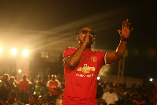 IMG 6192 preview - Davido, Runtown, Mr. P, Niniola, Oritsefemi, 9ice, Olu Maintain, Falz & more Shutdown Barbeach at the Merrybet Celebrity Fans Challenge Event